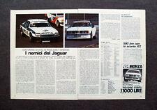 [GCG] AN44 - Clipping-Ritaglio -1984- EUROTURISMO , SCATTA IL CAMPIONATO A MONZA