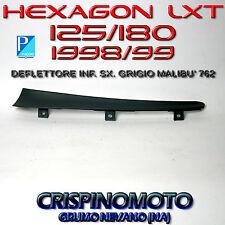 DEFLETTORE INFERIORE SX. GRIGIO MALIBU' HEXAGON LXT 125/180 HEXAGON LX4 125
