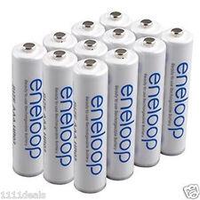 PANASONIC ENELOOP NEW 2100 AAA NiMH Batteries 12 Pack