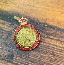 Emergency Fire Services Enamel Badge South Australia by Stokes Pre CFS c1950