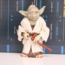 Star Wars Jedi Knight Master Yoda PVC Action Figure Collectible Model Toy Gift