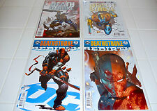 DC NEW 52 & REBIRTH DEATHSTROKE GRADES 9.8 FIRST PRINTS SOLD OUT MANU BENNETT