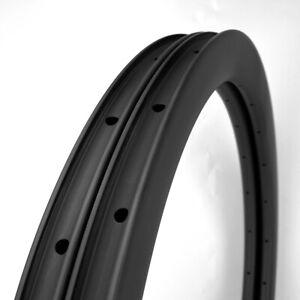Sale! Premium Road Bike 45mm Depth 700C Carbon Rim Clincher Tubeless 1PAIR