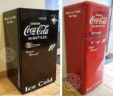 6 teiliges Coca Cola Kühlschrank Aufkleber Set 10 Cent - Oldschool Hellbeige gl