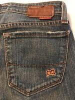 Big Star Women's Jeans Boot Cut Distressed Stretch Jeans Size 27 X 33