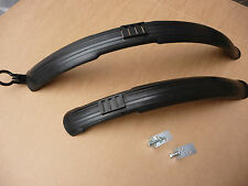Bike Bicycle Front & Rear Mudguard Set Dirt Crud Mud flaps Guard Fender XL wrap
