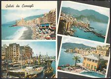 AD5012 Saluti da Camogli (GE) - Vedute - Cartolina postale - Postcard