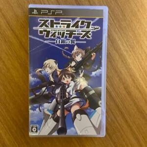 PSP Strike Witches Shirogane no Tsubasa Playstation Portable Japan Import