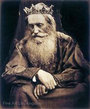 "Julia Margaret Cameron Photo - ""Study of King David"" 1860s"
