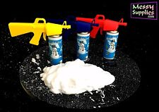 BUGSY SPLURGE GUN: Avalanche Spray Gun • For Bugsy Malone • Silly String Blaster