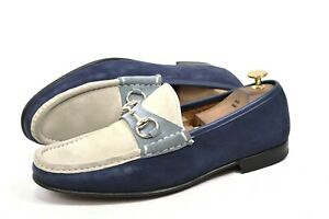 GUCCI Loafer Horsebit made in Italy 42.5/ US9/ 8.5UK shoes 155182 moccasins