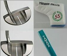 "YAMADA GOLF PUTTER Turtle-BR for RIGHT 33"",34"",35"" Rubber Grip + Cover Japan"