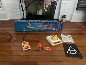 Vintage Complete 1971 Mattel VertiBird Rescue Helicopter (tested and working!!)