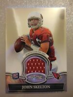2010 Bowman Sterling Jersey Rookie RC John Skelton Cardinals