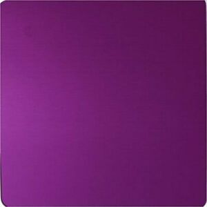 "Tesla Purple Positive Energy Plate - Large Plate by Tesla - Largest 12"" Design"