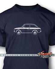 Fiat 850 Special Coupe Men T-Shirt - Multiple Colors Sizes - Italian Classic Car