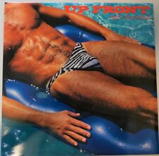 """UP FRONT"" 1987 12 X 12"" HUNK Wall Calendar 1987"