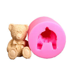 3D Bear Cake Bakeware Mold Silicone DIY Chocolate Jelly Candy Pastry Soap Mould