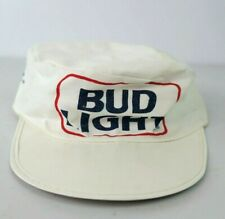 VTG 80s BUD LIGHT CYCLING STYLE CAP Bud Light One Size HAT USA MADE