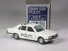 Muy Raro : Gama 1157 Dinamarca BMW 528 Político Danmark 1:43 IN Emb.orig