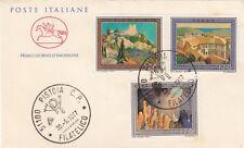 Italia 1977 FDC 1373-74 Turistica