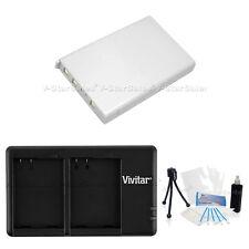 EN-EL5 Replacement Battery & USB Dual Charger for Nikon P3 P4 P5000 P5100 P6000