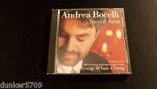 ANDREA BOCELLI SACRED ARIAS CD 1999 16 SONGS