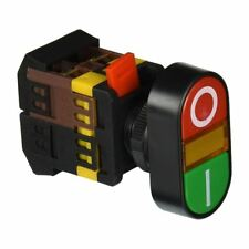 AC 600V 10A ON OFF ON AND OFF Momentary Push Button Switch with 220V Neon L X9I7