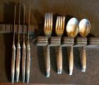 Vintage Lunt Sterling Silver Flatware - 17 piece set -  494 grams