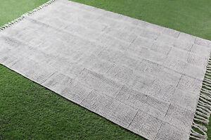 5x8.ft Dari Rug Area Handmde Cotton Carpet Runner Home Decor Floor Rug Area Rug