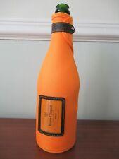 Champagne Bottle Cover Cooler, orange, Veuve Clicquot; NEW