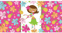 Luau Summer Fun Party Table Cover 137 x 274cm Birthday Party Decoration New