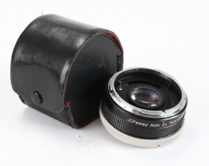 JCPENNY TELECONVERTER 2X AUTO IN CANON FD MOUNT, TRIM RING ISSUE/203695