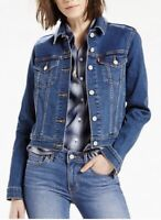 Levi's Women's Original Trucker Jacket In Soft as Butter Blue