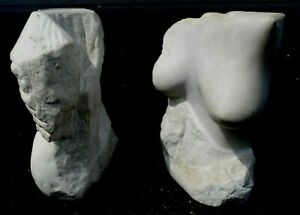 HAND CARVED STONE SCULPTURE