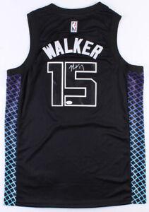 Kemba Walker Signed Charlotte Hornets Jordan NBA Style Jersey (JSA COA)