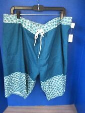 Old Navy~Teal Blue BOARD SHORTS~Knee Length~Men's XXL~NWT
