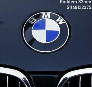 Original BMW Emblem Motorhaube 82mm für viele Modelle 51148132375