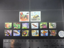 BEES (Set of 2) and Other Beneficial Insects Stamp Set Lot B2 from Canada