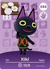 Kiki NFC Tag/Coin Amiibo Card Animal Crossing New Horizons! Free Shipping!