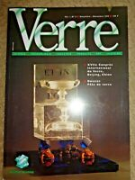 1995 Verre Glass Magazine Pate de Art Saint-Gobain Daum Baccarat Corning Stained