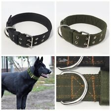 1PC Heavy Duty Large Dog Collar Neck Buckl Large Breed Nylon Collars Adjustable