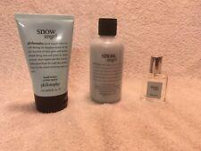 Philosophy Snow Angel Shower Gel Hand Cream and Spray Fragrance