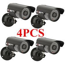 4X 1000Tvl Hd 36 Led Outdoor Ir Cut Night Vision Cctv Surveillance Camera Video