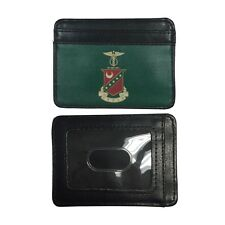 Kappa Sigma Slim Wallet Credit Card Case with Crest Kappa Sig