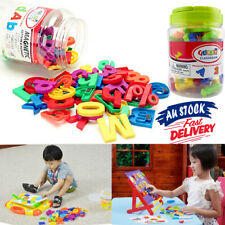 78PCS Magnetic Alphabet Letters Fridge Numbers gift Learning Toy Magnets Xmas