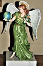 New ListingHome Interiors Esperanza Angel of Hope Porcelain Figurine Homco #12258-05