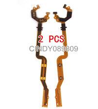 2 pcs Lens Shutter Flex Cable For Canon PowerShot A1000 A1100 A3000 A3100 E1 IS