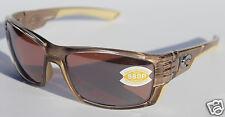 COSTA DEL MAR Cortez 580P POLARIZED Sunglasses Crystal Bronze/Silver Mirror $189