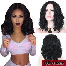 Synthetic Bob Wig Short Body Wavy Full Black Wigs Women's Natural Fashion Wig